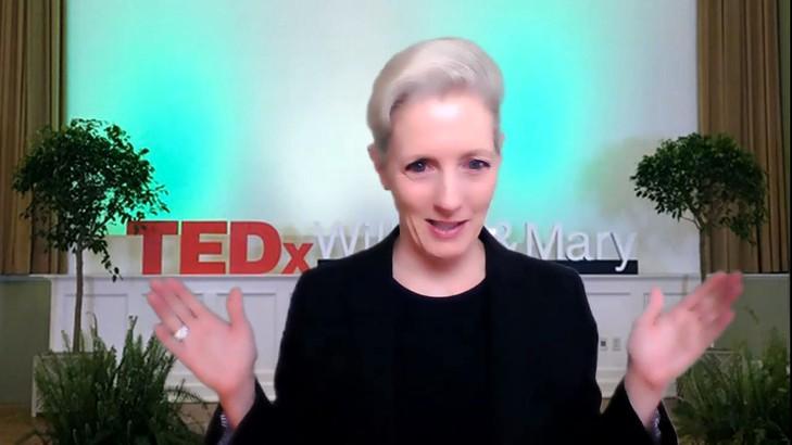 Amanda at Tedx Talk